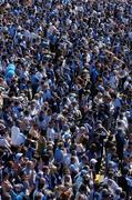 4 June 2006; A general view of Dublin fans at the game. Bank of Ireland Leinster Senior Football Championship, Quarter-Final, Longford v Dublin, Pearse Park, Longford. Picture credit; Brendan Moran / SPORTSFILE