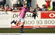 29 May 2016; Eric Molloy of Wexford Youths celebrates after scoring his side's 2nd goal in the SSE Airtricity League Premier Division match between Dundalk and Wexford Youths at Oriel Park, Dundalk, Co. Louth. Photo by Paul Mohan/Sportsfile