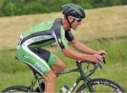 29 June 2014; Ryan Mullen, An Post Chain Reaction Sean Kelly Team, in action during the Elite Men Road Race at the National Cycling Championships, Multyfarnham, Co. Westmeath. Picture credit: Stephen McMahon / SPORTSFILE