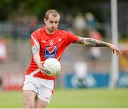 28 June 2014; Paddy Keenan, Louth. GAA Football All Ireland Senior Championship, Round 1B, Tyrone v Louth, Healy Park, Omagh, Co. Tyrone. Picture credit: Oliver McVeigh / SPORTSFILE