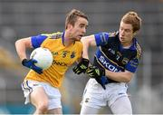5 July 2014; Colm Smyth, Longford, in action against Brian Fox, Tipperary. GAA Football All Ireland Senior Championship, Round 2A, Tipperary v Longford. Semple Stadium, Thurles, Co. Tipperary. Picture credit: Stephen McCarthy / SPORTSFILE