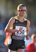 8 July 2014; Ireland's Robert Heffernan in action during the Men's 3000m Walk. Cork City Sports 2014, CIT, Bishopstown, Cork. Picture credit: Brendan Moran / SPORTSFILE