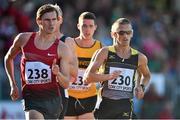 8 July 2014; Ireland's Robert Heffernan, right, in action against Dane Bird Smith, Australia, during the Men's 3000m Walk. Cork City Sports 2014, CIT, Bishopstown, Cork. Picture credit: Brendan Moran / SPORTSFILE
