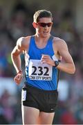 8 July 2014; Ireland's Brendan Boyce competing in the Men's 3000m Walk. Cork City Sports 2014, CIT, Bishopstown, Cork. Picture credit: Brendan Moran / SPORTSFILE