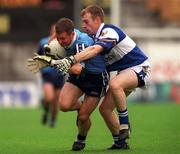 18th July 1999; Jim Gavin of Dublin in action against Patrick Conway of Laois during the Bank of Ireland Leinster Football Championship Semi Final Replay between Dublin and Laois at Croke Park in Dublin. Photo by Damien Eagers/Sportsfile
