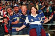 18th July 1999; Laois supporters during the Bank of Ireland Leinster Football Championship Semi Final Replay between Dublin and Laois at Croke Park in Dublin. Photo by Damien Eagers/Sportsfile