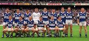 18th July 1999; Laois team ahead of the Bank of Ireland Leinster Football Championship Semi Final Replay between Dublin and Laois at Croke Park in Dublin. Photo by Damien Eagers/Sportsfile