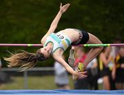 13 July 2014; Daena Kealy from St. Abbans AC, Co. Laois, who came joint 2nd in the girls under-15 high jump. GloHealth Juvenile Track and Field Championships, Tullamore Harriers AC, Tullamore, Co. Offaly. Picture credit: Matt Browne / SPORTSFILE
