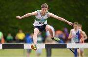 13 July 2014; Andrew Kennedy from Emerald AC, Co. Limerick, on his way to winning the boys under-17 boys 2000m steeplechase. GloHealth Juvenile Track and Field Championships, Tullamore Harriers AC, Tullamore, Co. Offaly. Picture credit: Matt Browne / SPORTSFILE