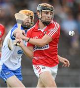 16 July 2014; Cian Buckley, Cork, in action against, Donie Breathnach, Waterford. Bord Gais Energy Munster GAA Hurling Under 21 Championship Semi-Final, Waterford v Cork, Walsh Park, Waterford. Picture credit: Matt Browne / SPORTSFILE