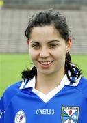 6 August 2006; The Cavan captain Grainne Smith. TG4 Ladies Ulster Junior Football Final - 218932