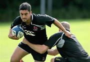 30 August 2006; Kieran Campbell during Ulster rugby squad training. Newforge Country Club, Belfast, Co. Antrim. Picture credit: Oliver McVeigh / SPORTSFILE