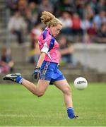 20 July 2014; Rosie Landers, Waterford. All-Ireland U14 'B' Ladies Football Championship Final, Galway v Waterford, MacDonagh Park, Nenagh, Co. Tipperary. Picture credit: Matt Browne / SPORTSFILE