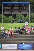 20 July 2014; A general view of the crowd at Morton Stadium. GloHealth Senior Track and Field Championships, Morton Stadium, Santry, Co. Dublin. Picture credit: Brendan Moran / SPORTSFILE