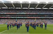 20 July 2014; The Artane School of Music Band during the parade. Leinster GAA Football Senior Championship Final, Dublin v Meath, Croke Park, Dublin. Picture credit: Ray McManus / SPORTSFILE