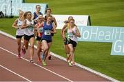 19 July 2014; Fionnuala Britton, Kilcoole A.C, leads her heat in the women's 1500m. GloHealth Senior Track and Field Championships, Morton Stadium, Santry, Co. Dublin. Picture credit: Piaras O Midheach / SPORTSFILE