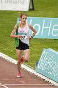 19 July 2014; Fionnuala Britton, Kilcoole A.C, on her way to winning the Women's 5000m Final. GloHealth Senior Track and Field Championships, Morton Stadium, Santry, Co. Dublin. Picture credit: Piaras O Midheach / SPORTSFILE