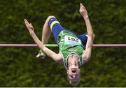 27 July 2014; Keith Marks from Cushinstown AC, Co. Meath, who came second in the boys U-18 high jump. GloHealth Juvenile Track and Field Championships, Tullamore Harriers AC, Tullamore, Co. Offaly. Picture credit: Matt Browne / SPORTSFILE