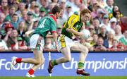 17 September 2006; Colm Cooper, Kerry, in action against Keith Higgins, Mayo. Bank of Ireland All-Ireland Senior Football Championship Final, Kerry v Mayo, Croke Park, Dublin. Picture credit: Brendan Moran / SPORTSFILE