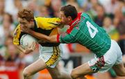 17 September 2006; Colm Cooper, Kerry, in action against Keith Higgins, Mayo. Bank of Ireland All-Ireland Senior Football Championship Final, Kerry v Mayo, Croke Park, Dublin. Picture credit: Ray Ryan / SPORTSFILE