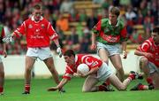 22 August 1999; Noel O'Leary of Cork during the All-Ireland Minor Football Championship Semi-Final match between Cork and Mayo at Croke Park in Dublin. Photo by Aoife Rice/Sportsfile