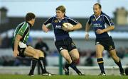 29 September 2006; Brian O'Driscoll, Leinster, supported by team-mate Denis Hickie, in action against Matt Mostyn, Connacht. Magners Celtic League 2006 - 2007, Connacht v Leinster, Sportsground, Galway. Picture credit: Brendan Moran / SPORTSFILE