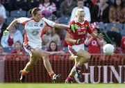 1 October 2006; Nollaig Cleary, Cork, in action against Sinead McCleary, Armagh. TG4 Ladies All-Ireland Senior Football Championship Final, Cork v Armagh, Croke Park, Dublin. Picture credit: Brendan Moran / SPORTSFILE