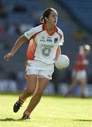 1 October 2006; Caroline O'Hagan, Armagh. TG4 Ladies All-Ireland Senior Football Championship Final, Cork v Armagh, Croke Park, Dublin. Picture credit: Brendan Moran / SPORTSFILE