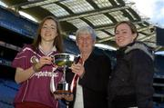 9 October 2006; Galway Minor A Camogie Captain Catriona Cormican who will be part of the Galway team that contests the Minor A Camogie All-Ireland Final on Sunday 15th of October, Nenagh, Co. Tipperary, at 2.30pm against Kilkenny. Croke Park, Dublin. Picture credit: Pat Murphy / SPORTSFILE