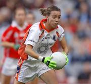 1 October 2006; Maighdlin McAlinden, Armagh. TG4 Ladies All-Ireland Senior Football Championship Final, Cork v Armagh, Croke Park, Dublin. Picture credit: David Maher / SPORTSFILE