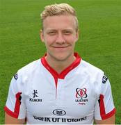 19 August 2014; Stuart Olding, Ulster. Ulster Rugby Squad Portraits 2014/15. Picture credit: John Dickson / SPORTSFILE