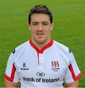 19 August 2014; Declan Fitzpatrick, Ulster. Ulster Rugby Squad Portraits 2014/15. Picture credit: John Dickson / SPORTSFILE