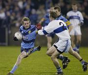 Craig Rogers, UCD, in action against Willie Lowry, St. Vincents. Dublin Senior Football Championship Final, UCD v St Vincents, Parnell Park, Dublin. Picture credit: Pat Murphy / SPORTSFILE