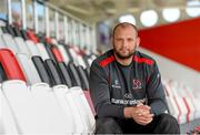 26 August 2014; Ulster's Dan Tuohy during a Ulster Rugby Press Conference ahead of their match against Leinster on Saturday. Kingspan Stadium, Ravenhill Park, Belfast. Picture credit: Oliver McVeigh / SPORTSFILE