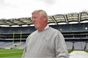 29 August 2014; UCF head coach George O'Leary on the pitch in Croke Park during the previews ahead of the Croke Park Classic, Penn State v University of Central Florida on Saturday. Croke Park, Dublin. Picture credit: Pat Murphy / SPORTSFILE