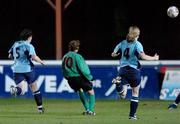 2 December 2006; Aoife Herbert, Mayo League, scores her side's opening goal. Women's FAI Senior Cup Final, UCD v Mayo League, Richmond Park, Dublin. Picture credit: Damien Eagers / SPORTSFILE