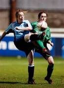 2 December 2006; Sharon Cullen, UCD, in action against Karen Lilly, Mayo League. Women's FAI Senior Cup Final, UCD v Mayo League, Richmond Park, Dublin. Picture credit: Damien Eagers / SPORTSFILE