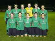 2 December 2006; The Mayo League team. Women's FAI Senior Cup Final, UCD v Mayo League, Richmond Park, Dublin. Picture credit: Damien Eagers / SPORTSFILE