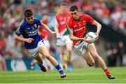 24 August 2014; Cian Hanley, Mayo, in action against Brian Ó Beaglaoích, Kerry. Electric Ireland GAA Football All-Ireland Minor Championship, Semi-Final, Kerry v Mayo, Croke Park, Dublin. Picture credit: Stephen McCarthy / SPORTSFILE