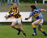 12 November 2006; Tony McEntee, Crossmaglen Rangers, in action against Eddie O'Reilly, Mullahoran. AIB Ulster Senior Football Championship Quarter-Final, Crossmaglen Rangers v Mullahoran, Oliver Plunkett Park, Crossmaglen, Co Armagh. Picture credit: Oliver McVeigh / SPORTSFILE