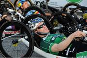 1 September 2014; Ireland's Mark Rohan prior to competing in the Men's H2 Road. 2014 UCI Paracyling World Road Championships, Greenville, South Carolina, USA. Picture credit: Jean Baptiste Benavent / SPORTSFILE