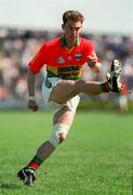 25 June 1995; Anthony Keating of Carlow during the Leinster Senior Football Championship Quarter-Final replay between Laois and Carlow at O'Moore Park in Portlaoise. Photo by Brendan Moran/Sportsfile