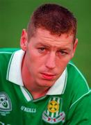 16 June 1996; Ciaran Carey of Limerick ahead of the Munster GAA Hurling Senior Championship Semi-Final match between Limerick and Clare at Gaelic Grounds in Limerick. Photo by Brendan Moran/Sportsfile