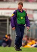 Wexford manager Cyril Hughes. Photo by Brendan Moran/Sportsfile