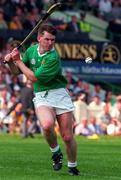 4 August 1996; Mark Foley of Limerick during the GAA Hurling All-Ireland Senior Championship Semi-Final between Limerick and Antrim at Croke Park in Dublin. Photo by Brendan Moran/Sportsfile