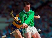 16 June 1996; Mike Houlihan of Limerick during the Munster GAA Hurling Senior Championship Semi-Final match between Limerick and Clare at Gaelic Grounds in Limerick. Photo by David Maher/Sportsfile