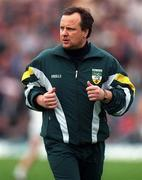 Offaly manager Tommy Lyons. Photo by Ray McManus/Sportsfile