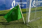13 September 2014; The green goal flag flutters in the wind. Bord Gáis Energy GAA Hurling Under 21 All-Ireland 'A' Championship Final, Clare v Wexford. Semple Stadium, Thurles, Co. Tipperary. Picture credit: Ray McManus / SPORTSFILE