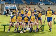 13 September 2014; The Roscommon players assemble for the team photograph. Bord Gáis Energy GAA Hurling Under 21 All-Ireland 'B' Championship Final, Roscommon v Kildare. Semple Stadium, Thurles, Co. Tipperary. Picture credit: Ray McManus / SPORTSFILE