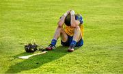 13 September 2014; Robbie Fallon, Roscommon, at the end of the game. Bord Gáis Energy GAA Hurling Under 21 All-Ireland 'B' Championship Final, Roscommon v Kildare. Semple Stadium, Thurles, Co. Tipperary. Picture credit: Ray McManus / SPORTSFILE